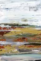 Marble Coast II Framed Print