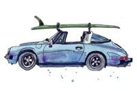 Surfin' Wheels IV Framed Print