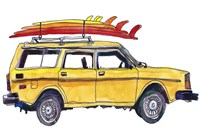 Surfin' Wheels V Fine Art Print