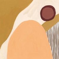 Desert Sun II Framed Print
