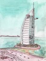 Day Landing Dubai I Fine Art Print
