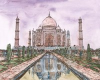 Dreaming of India II Fine Art Print