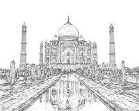 India in Black & White II Fine Art Print