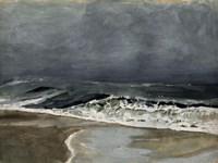 Moody Sea I Fine Art Print