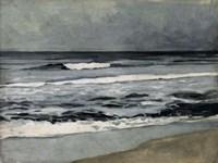 Moody Sea II Fine Art Print