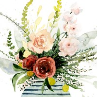 Splashy Bouquet II Fine Art Print