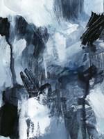 Composition in Blue I Framed Print