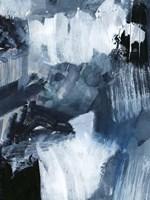 Composition in Blue II Framed Print