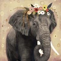 Klimt Elephant I Fine Art Print