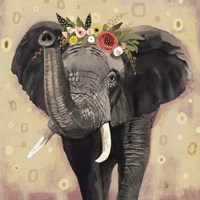 Klimt Elephant II Fine Art Print