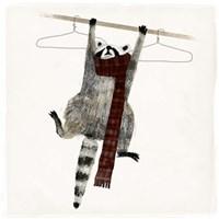 Rascally Raccoon I Fine Art Print