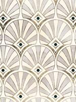 Deco Patterning I Framed Print