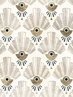 Deco Patterning III Framed Print