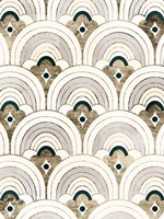 Deco Patterning IV Framed Print