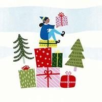 Santa's Little Helpers I Fine Art Print