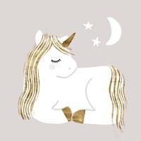 Sleepy Unicorn II Fine Art Print