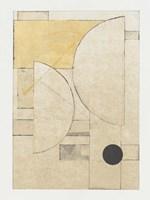 Mapping Bauhaus II Framed Print