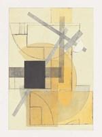 Mapping Bauhaus III Framed Print