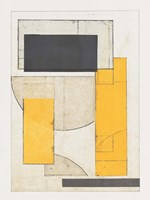 Mapping Bauhaus IV Framed Print
