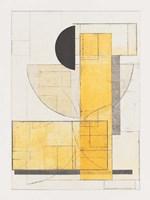 Mapping Bauhaus V Framed Print