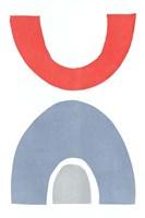 Primary Arches I Fine Art Print