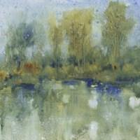 Pond Reflection I Fine Art Print