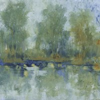 Pond Reflection II Fine Art Print
