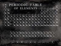 Periodic Table Fine Art Print