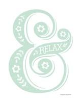Relax Mint Fine Art Print