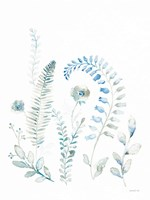 Malmo Garden II Framed Print