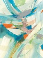 Spontaneous II Framed Print