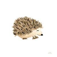 Woodland Whimsy Hedgehog Framed Print