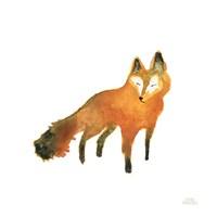 Woodland Whimsy Fox Framed Print