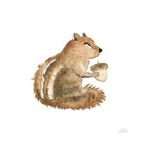 Woodland Whimsy Squirrel Fine Art Print