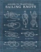 Vintage Sailing Knots XIII Fine Art Print