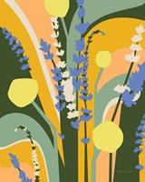 Lavender and Craspedia Fine Art Print