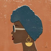 Kenya Couture II Framed Print
