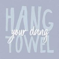 Bathroom Advice II Framed Print