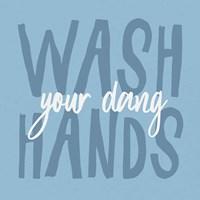 Bathroom Advice I Framed Print