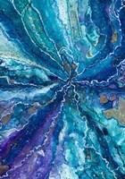 Galactical Blues Fine Art Print