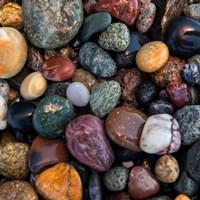 Ocean Rocks I Framed Print