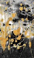 Gold Reflections Abstract Fine Art Print