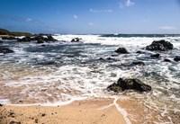 Oahu Rocky Shores I Fine Art Print