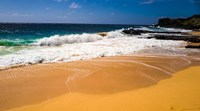 Oahu Shore Waves Fine Art Print