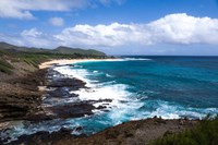 Oahu Rocky Shores II Fine Art Print
