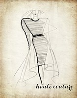 Couture Concepts II Framed Print