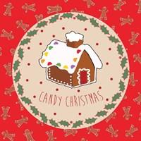 Sweet Christmas I Framed Print