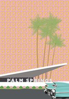 Palm Springs with Convertible Fine Art Print