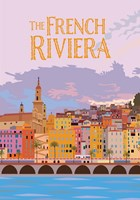 The French Riviera Fine Art Print