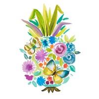 Vibrant Pineapple Fine Art Print